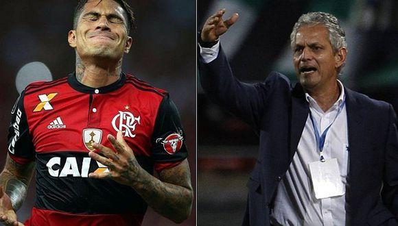 Flamengo de Paolo Guerrero hace oficial salida de Reinaldo Rueda