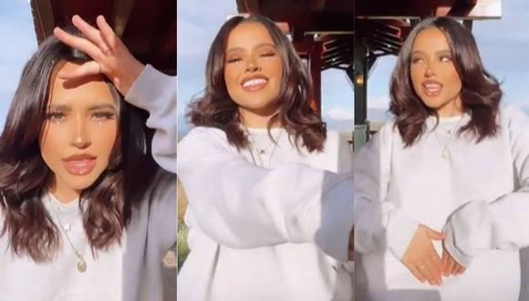"""La cantante Becky G sorprendió a sus seguidores con un baile al ritmo de """"Las Nenas"""". (Foto: Captura de video)"""