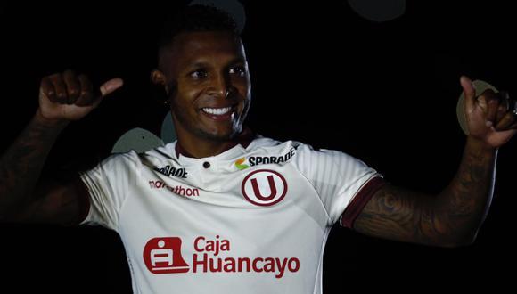 Alberto Quintero será titular en el duelo entre Universitario y Cerro Largo | Foto: Joel Alonzo/GEC