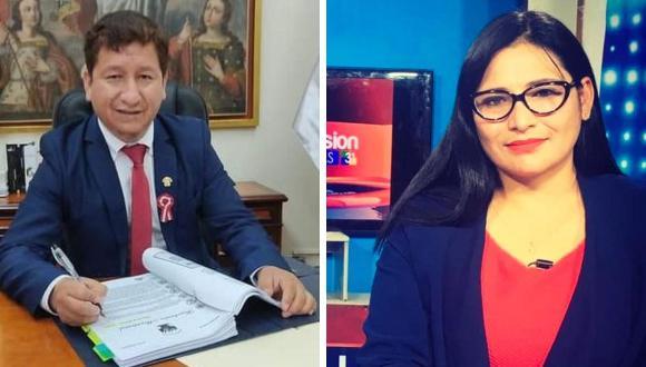 Periodista cusqueña se quedó sin trabajo tras acalorada discusión con Guido Bellido.