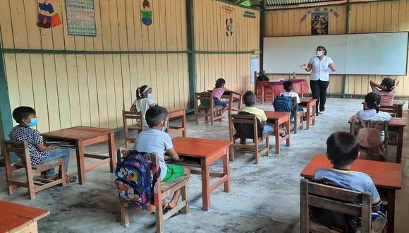 Escuelas habilitadas deben asegurar condiciones de bioseguridad y la conformidad de la comunidad educativa para ser consideradas aptas. (Foto: Minedu)
