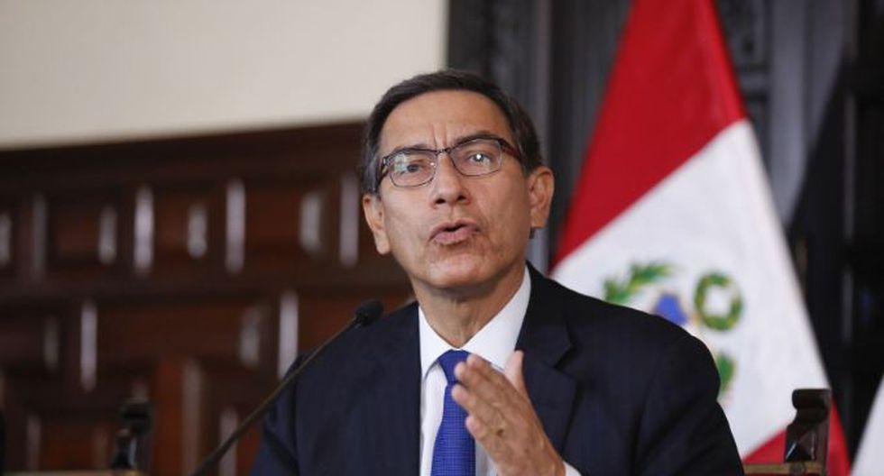 Presidente peruano Martin Vizcarra