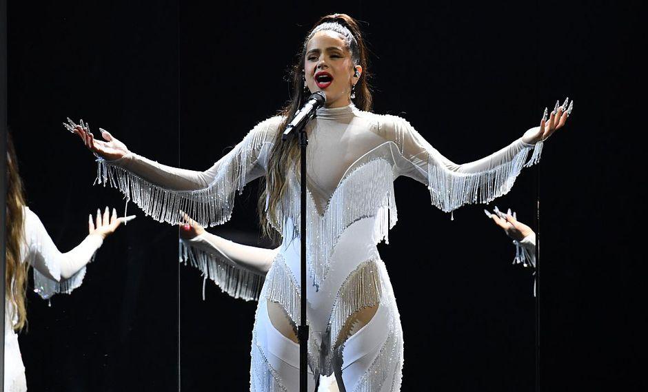 """Grammy 2020: Rosalía interpretó por primera vez en vivo su tema """"Juro que""""- (Foto: AFP)"""