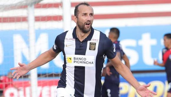 Hernán Barcos no oculta su deseo de retirarse en Alianza Lima. (Foto: Alianza Lima)
