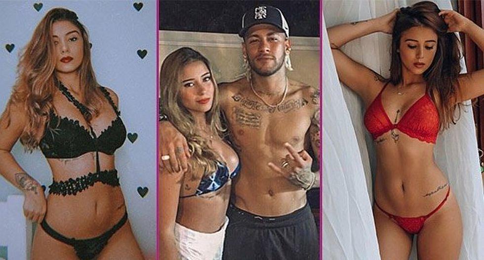 Neymar estrena novia por Año Nuevo