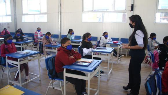 Este miércoles abre sus puertas el colegio privado Cambridge de Chorrillos y mañana jueves lo hará el centro educativo inicial público Elizabeth Espejo de Marroquín. (Foto referencial archivo: Andina)