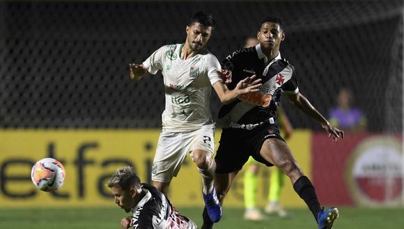Vasco cuenta con ventaja en la llave tras vencer 1-0 a Oriente Petrolero en el duelo de ida. (Foto: AFP)