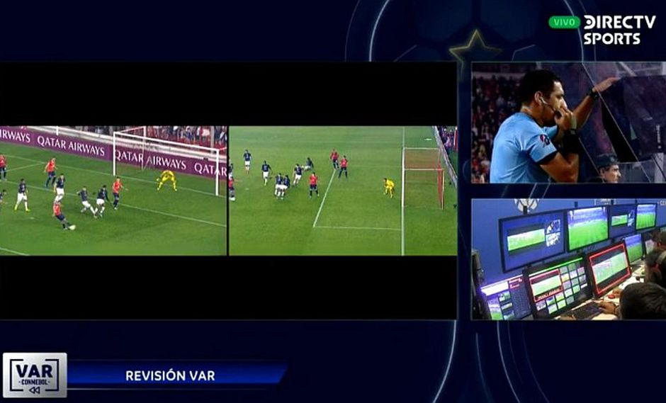 Polémica en la Copa Sudamericana: Diego Haro anula gol de Independiente gracias al VAR | VIDEO