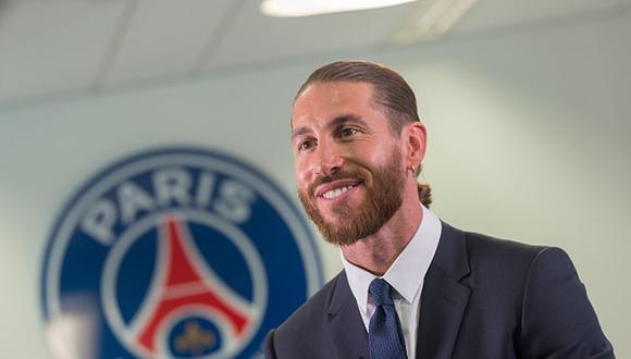 Sergio Ramos firmó dos años de contrato con el PSG. (Foto: Getty)