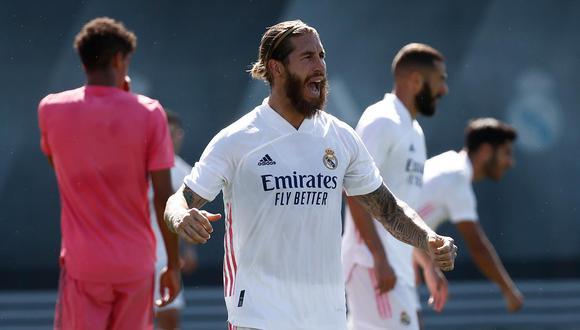 Sergio Ramos podría llegar al debut en la Champions League y el clásico contra Barcelona. (Foto: Real Madrid)