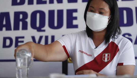 Phillip Butters envió un mensaje a Keiko Fujimori un día antes del debate presidencial con Pedro Castillo.  (Foto: Hugo Perez / @phto.gec)