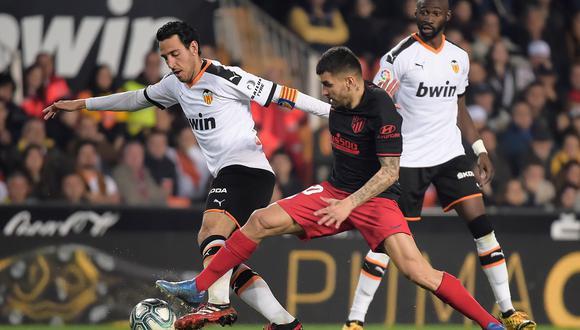 [VIDEO DE GOLES] Atlético de Madrid empató 2-2 con Valencia en el Mestalla por la fecha 24 de LaLiga (Photo by JOSE JORDAN / AFP)