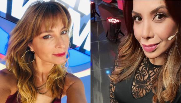 """Olenka Zimmermann opina sobre desenvolvimiento de Mónica Cabrejos en """"Al sexto día"""". (Foto: @olenkazimmermann/@la_cabrejos)"""