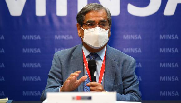 Ministro de Salud informa que se investiga casos sospechosos de variante Delta en Lima. (Foto: GEC)