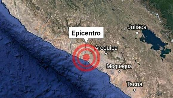 Cuatro sismos consecutivos sacudieron la provincia de Caylloma