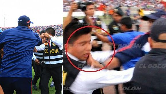Campeón con Alianza podría ir a preso por agredir a policía   VIDEO