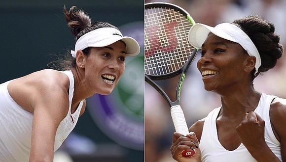 Wimbledon 2017: Garbiñe Muguruza y Venus Williams a la final del torneo