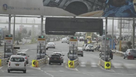El uso de carros particulares estará permitido este domingo. (Foto: GEC)