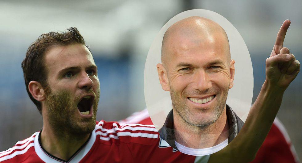 Manchester United: Juan Mata enseña a controlar el balón como Zinedine Zidane [VIDEO]