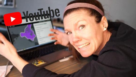 Una maestra usa el poder de las redes sociales para enseñar de una forma divertida a sus alumnos en estos tiempos de aislamiento social. (Foto: Sarah Breckley en YouTube)