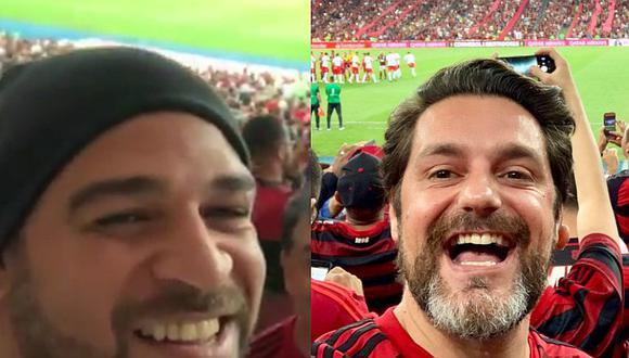 Flamengo vs. Internacional | Adriano y Julio César celebraron en el Maracaná junto a los 85 mil hinchas | VIDEO