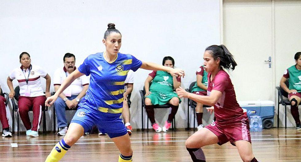 UNMSM cayó 5-0 en Copa Libertadores de futsal femenino