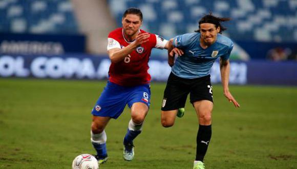 Uruguay y Chile empataron 1-1 por la Jornada 3 del Grupo A de la Copa América 2021. (Foto: Getty Images)