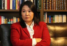 Keiko Fujimori podrá seguir siendo investigada por caso Odebrecht hasta febrero del 2022