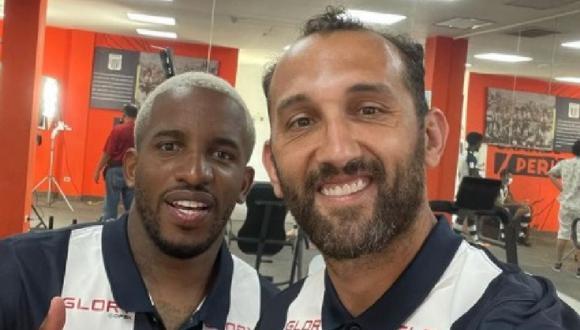 Jefferson Farfán y Hernán Barcos tienen muchas cosas en común y hacen soñar a la hinchada de Alianza Lima. (Instagram)