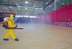 Videna fue desinfectada y todo va quedando listo para el reinicio de la práctica del deporte de alta competencia [FOTOS]