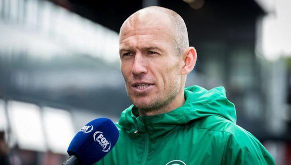 Arjen Robben estuvo la última temporada en el FC Groningen. (Foto: FC Groningen)