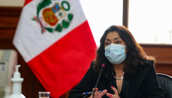 Violeta Bermúdez dijo que ha pedido información dentro del Ejecutivo. (Foto: PCM)