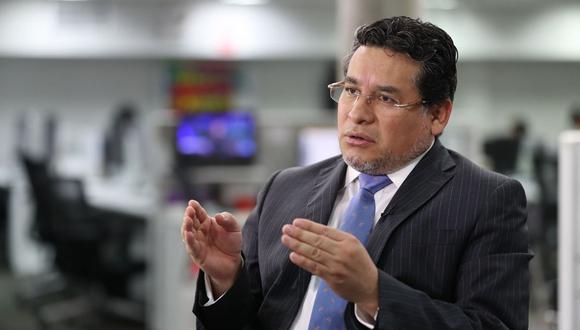 Rubén Vargas enfatizó que las cartas de dimisión de los policías a sus diversos cargos tienen una característica en común, se trata de generales en situación de retiro de la PNP. (Foto: GEC)