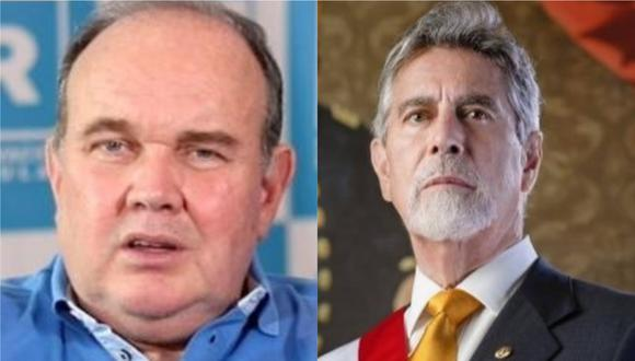 Durante su visita a Tacna, Rafael López Aliaga insultó al Presidente de la República Francisco Sagasti.