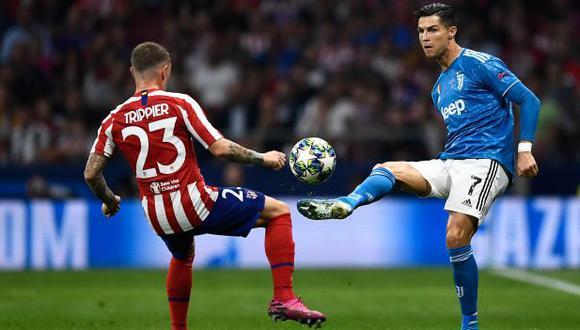 Juventus vs. Atlético de Madrid: chocan en Turín por el Grupo D de la Champions League. (Foto: AFP)