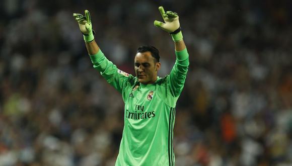 Keylor Navas recordó su marcha de Real Madrid. (Foto: AFP)
