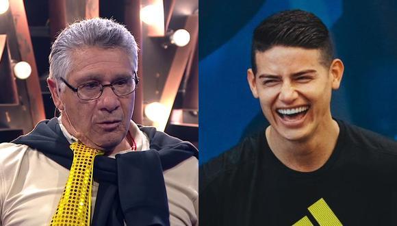 Ramón Quiroga olvidó que James no fue convocado.