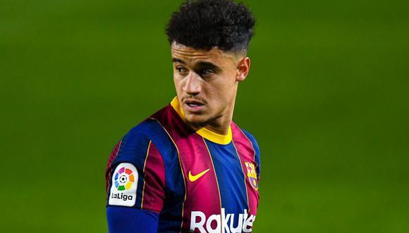 Philippe Coutinho es jugador el FC Barcelona. (Foto: Getty Images)