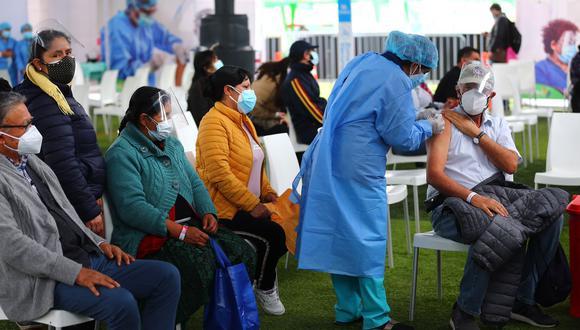 En la sexta vacunatón se logró inmunizar  a más de 757 mil personas. (Foto: Hugo Curotto / @photo.gec)