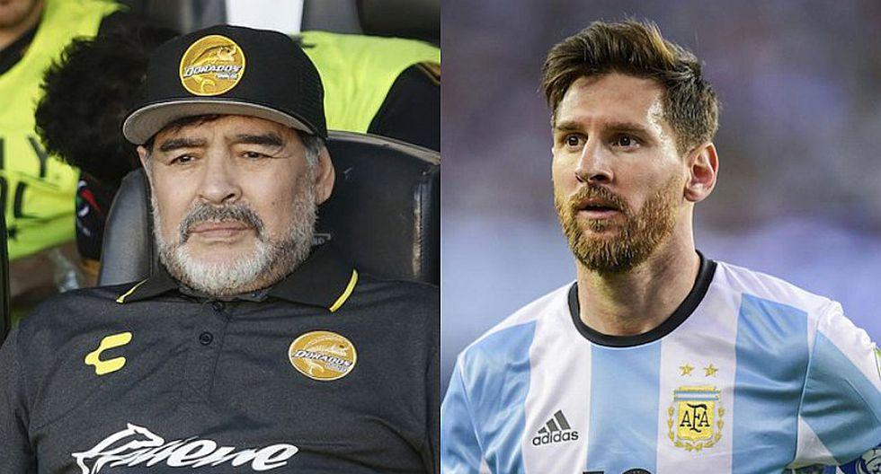 Maradona llamará a Messi para pedirle disculpa por sus declaraciones
