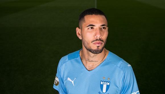 El peruano Sergio Peña firmó por tres temporadas con el Malmo de Suecia. (Foto: Malmo FF)
