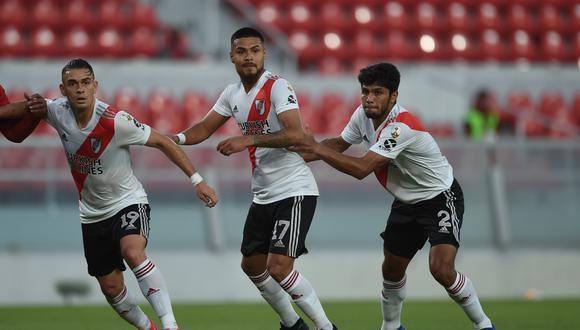 River Plate vs. Godoy Cruz por fecha 6 del Grupo 3 de la Copa Diego Maradona en el Estadio Libertadores de América