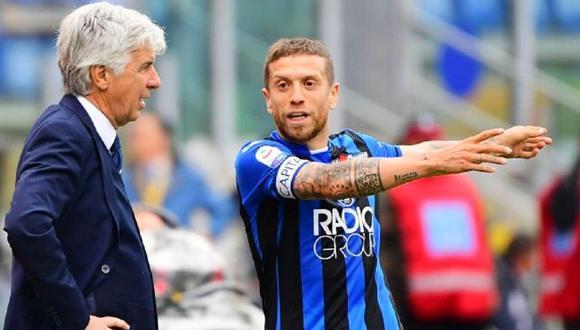 DT Atalanta sentencia futuro de Gómez (Foto: AFP)