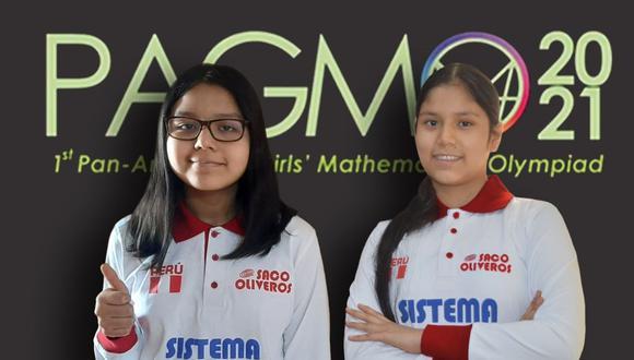 Angie Alcántara Castillo, de 15 años, y Valeria Pareja Soto, de 14 años, lograron las medallas de oro.
