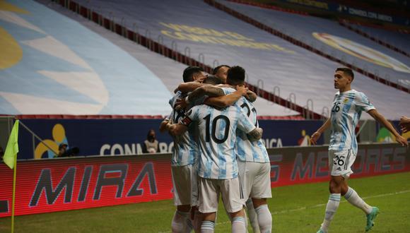 Argentina y Uruguay se enfrentan este viernes en el estadio Mané Garrincha de Brasilia por la Copa América