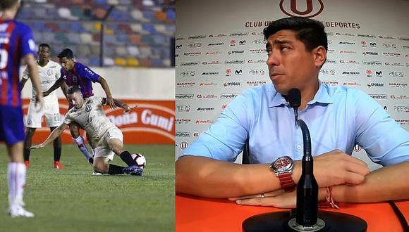 La dura crítica de Córdova a sus jugadores tras empate con A. Universidad