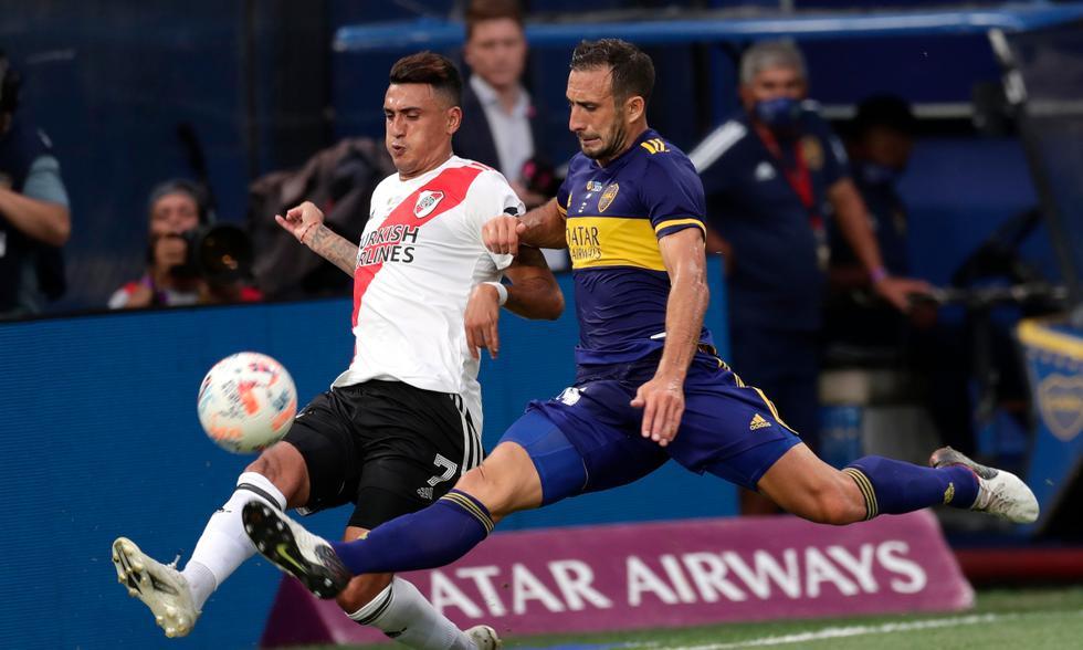 Boca vs. River en vivo por el clásico del fútbol argentino