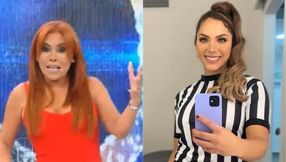 Magaly Medina le pide a Isabel Acevedo que presente a su novio oficialmente. (Foto: Captura de video/@isabelacevedoarenas)