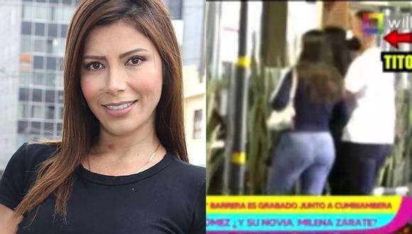 La colombiana manifestó su sorpresa, pues no sabía que el deportista tenía a la cantante como amiga.