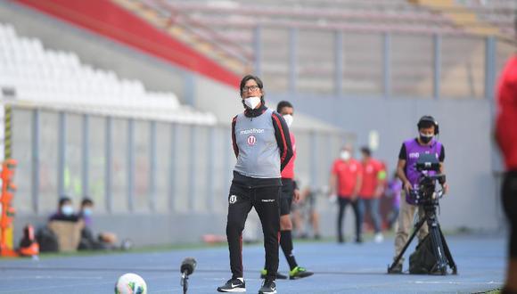 Ángel Comizzo se lamentó que Michael Espinoza haya sido designado como el árbitro del Universitario vs. Sporting Cristal. (Foto: Liga 1)